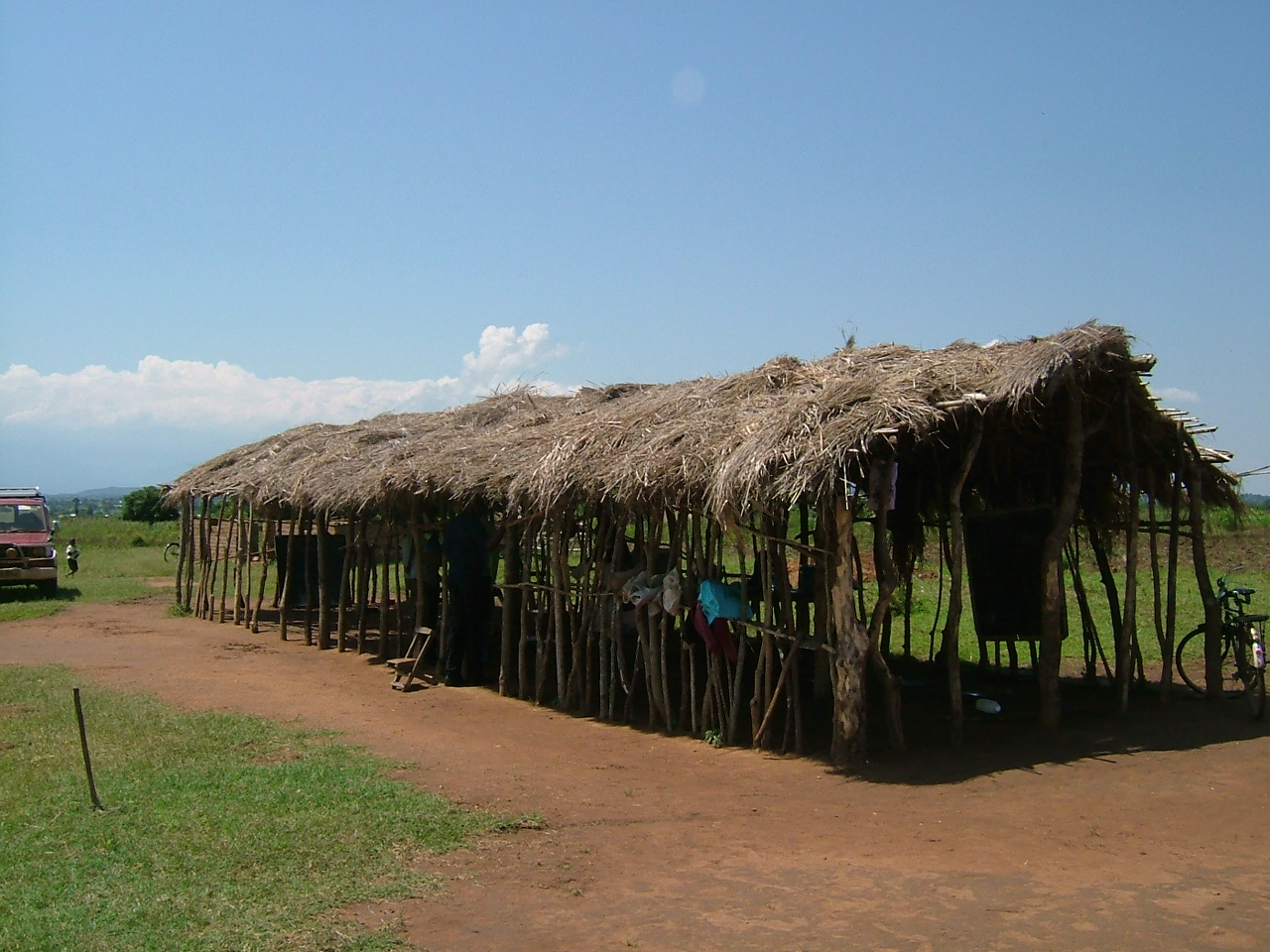 Aputiput Primary School in 2008