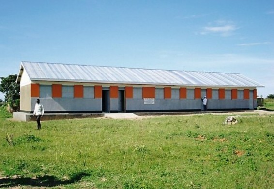Aputiput Primary School was transformed as the result of a generous bequest