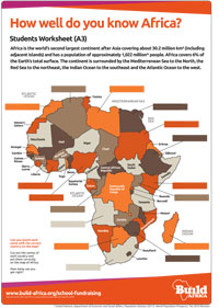 Map Of Africa Games.School Games And Teachers Resources Build Africa