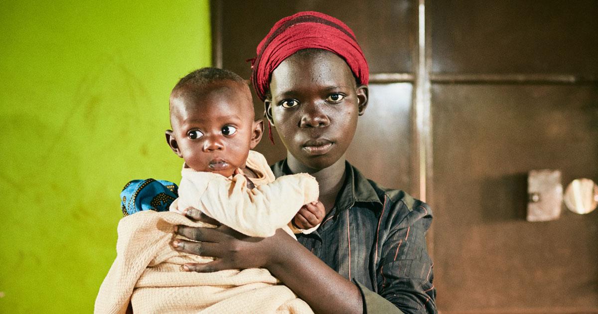 Joyce, a young mum from Uganda