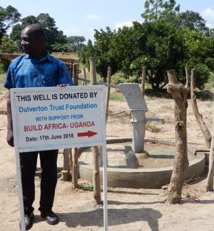 A well built to provide children with drinking water