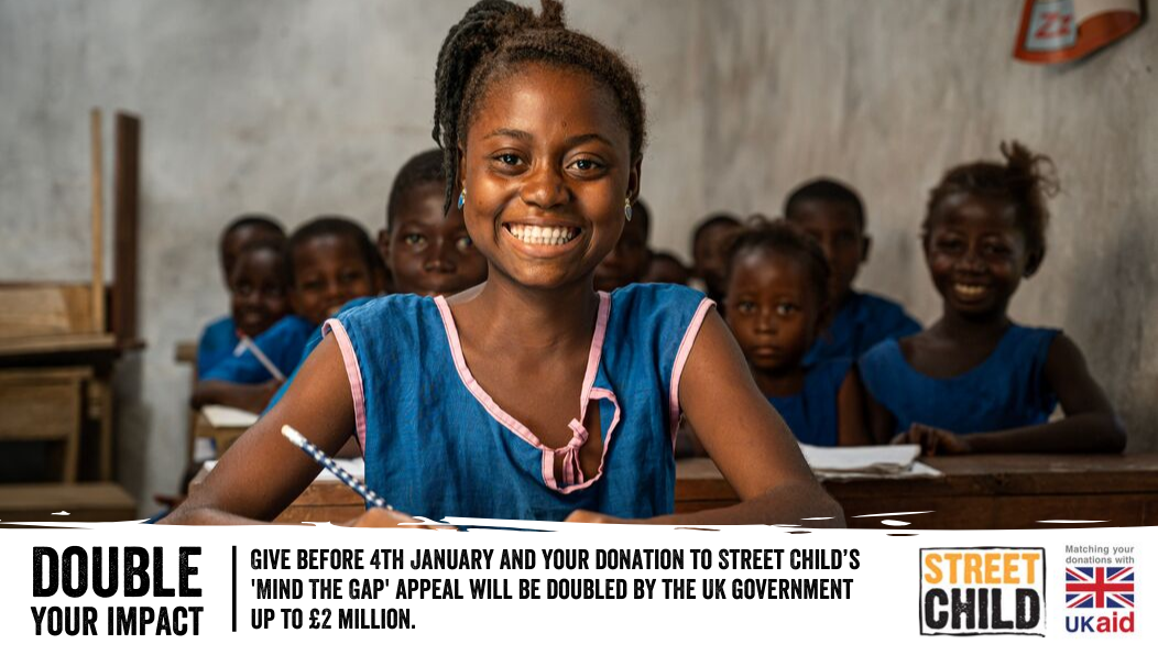Street Child's 'Mind The Gap' appeal