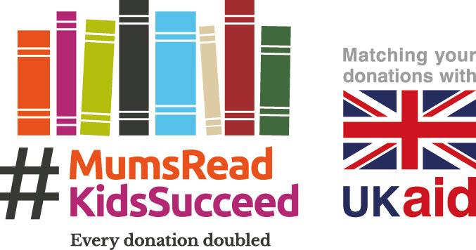 #MumsReadKidsSucceed with UK Aid Match