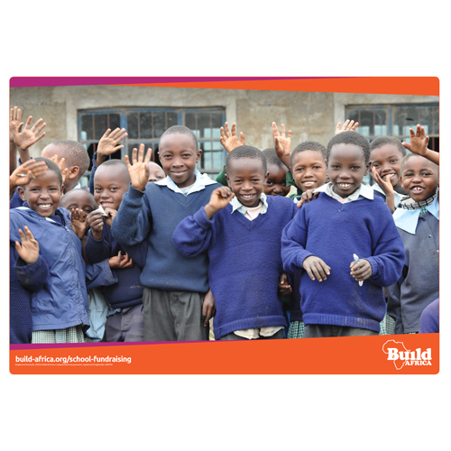 School Fundraising Poster