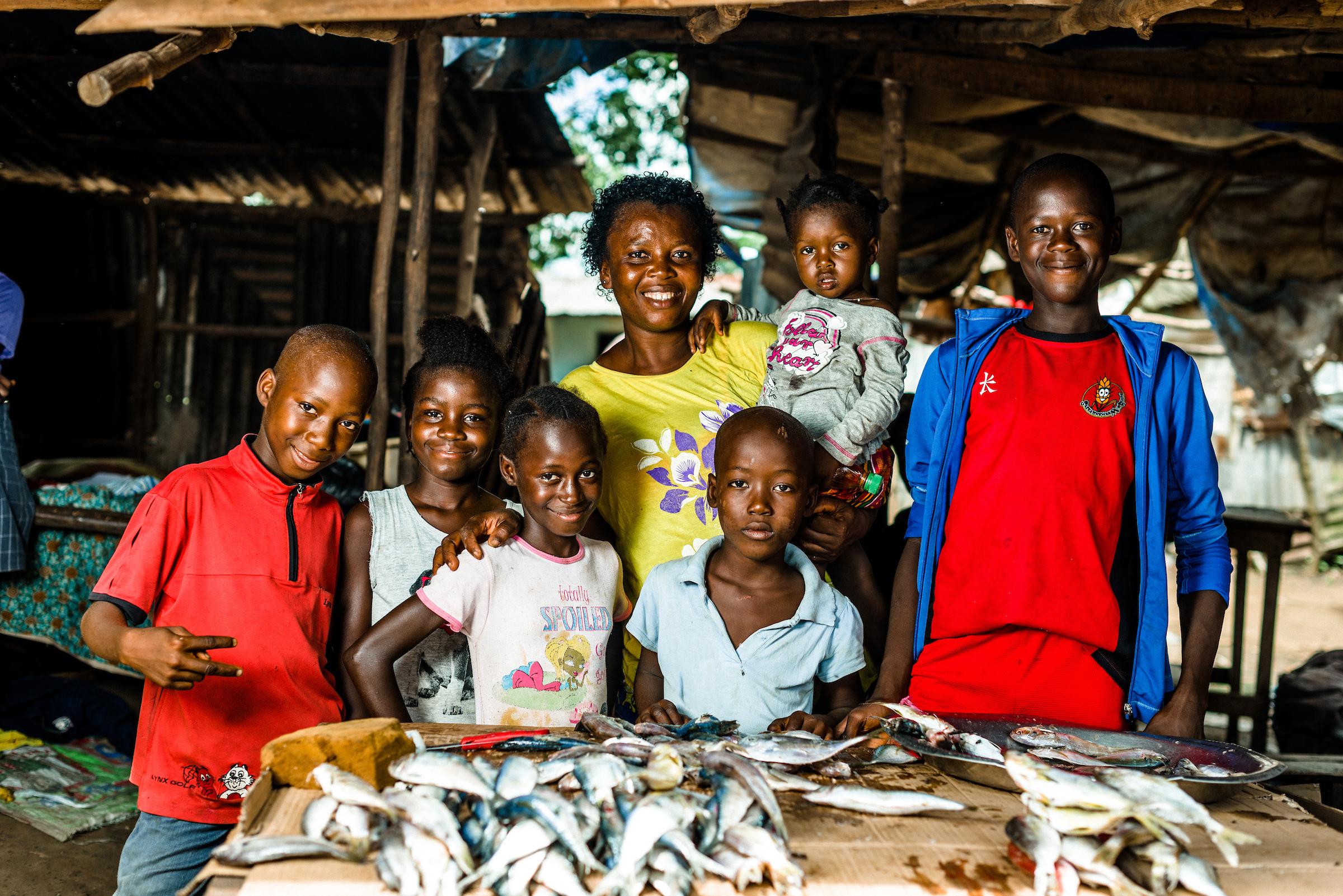 Support families in Sierra Leone
