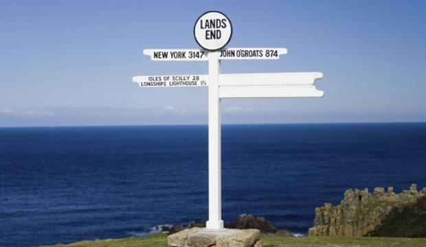 Land's End to John O'Groats cycle challenge