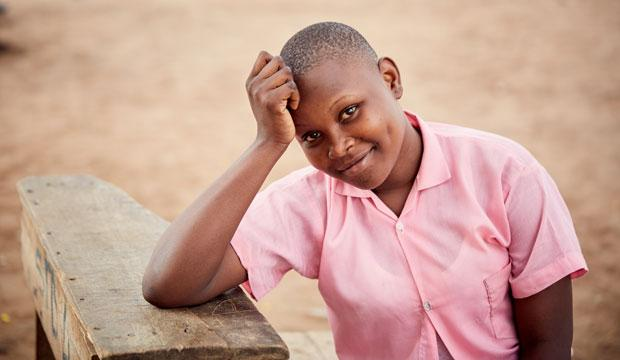 Our appeal told the story of Anna, a girl from Kwale in Kenya.