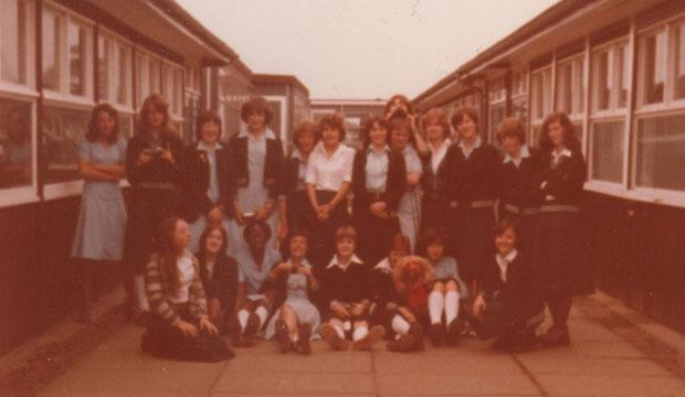 Throwback... a school photo from Northgate High School, Ipswich