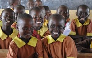 Children sat in a classroom