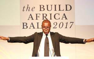 BBC News presenter Clive Myrie hosts the Build Africa Ball 2017