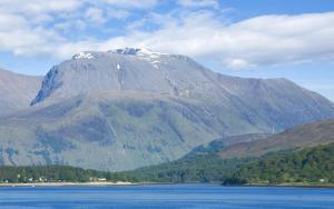Ben Nevis, the highest of the UK's Three Peaks