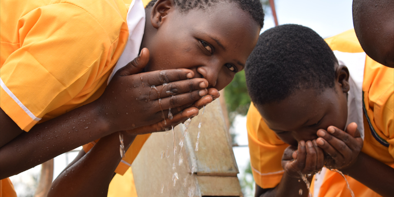 Giving children access to water in school